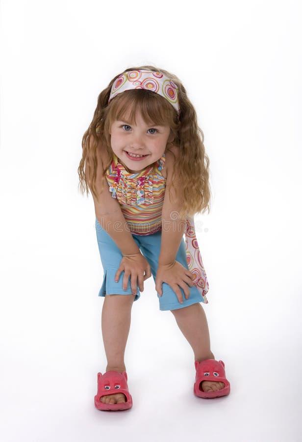 Weibliches Kind-Baumuster stockfotos