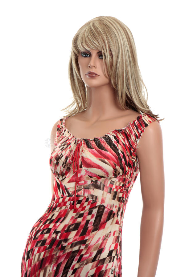 Weibliches Mannequin lizenzfreies stockbild