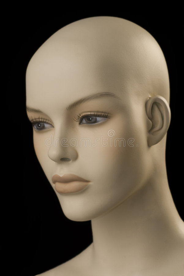 Weibliches Mannequin stockfoto