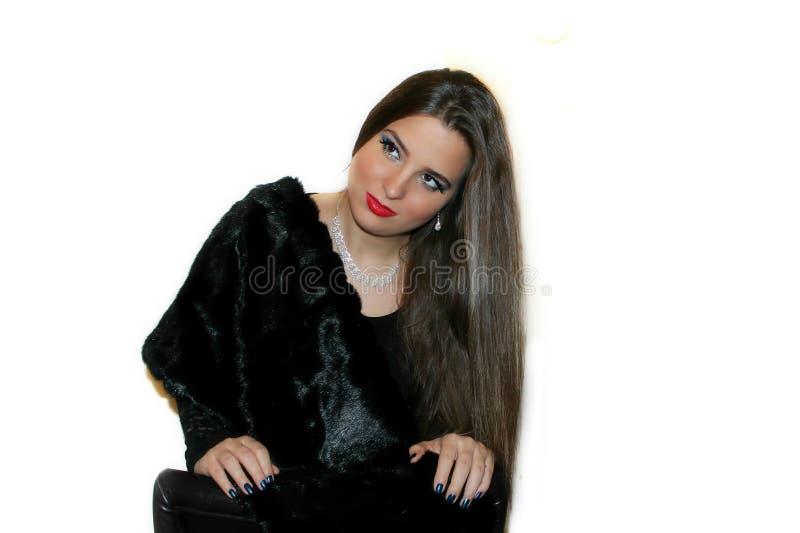 Weibliches Mode-Modell stockbild