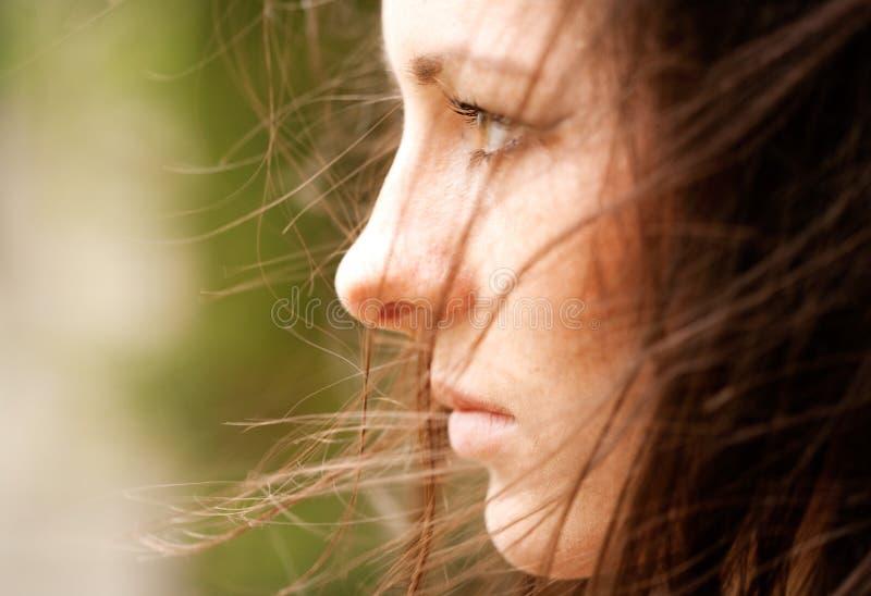 Weibliches Portrait. lizenzfreies stockfoto