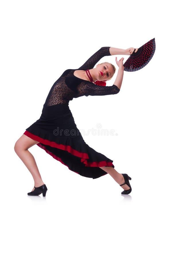 Weibliches Tänzertanzen Lizenzfreie Stockfotografie
