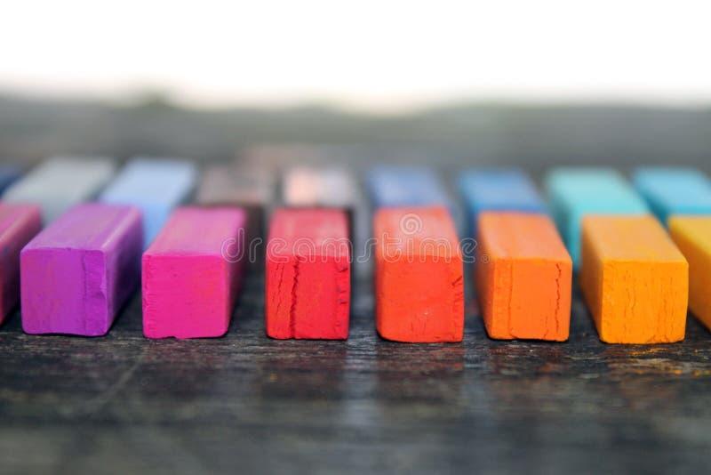 Weich Pastell für Künstler stockfotografie