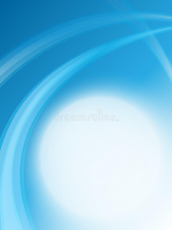 Weiche blaue Schablone lizenzfreies stockbild
