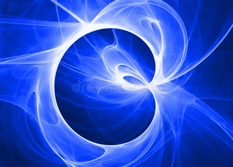 Weiche blaue Wolke stock abbildung