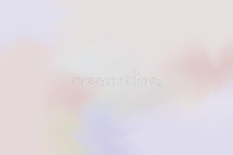 Weiche Farbe mischte Hintergrundmalerei-Kunst-Pastellzusammenfassung, bunte Kunsttapete vektor abbildung
