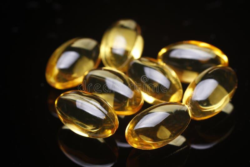 Weiche Gele des Vitamin-E lizenzfreies stockfoto