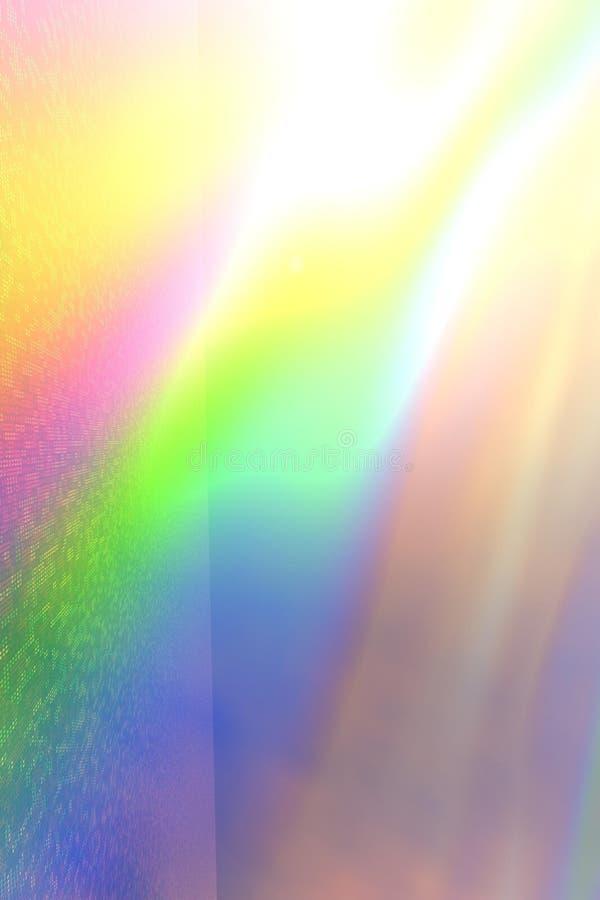 Weiche glühende Leuchten lizenzfreie abbildung