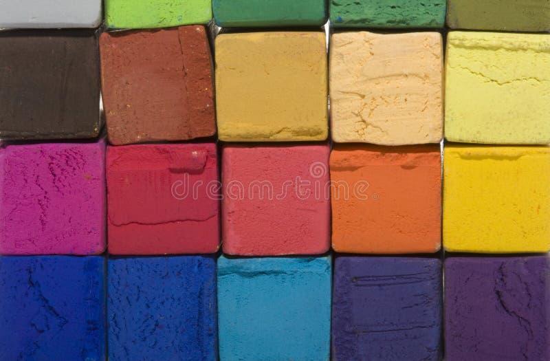 Weiche Pastellwürfel lizenzfreie stockbilder