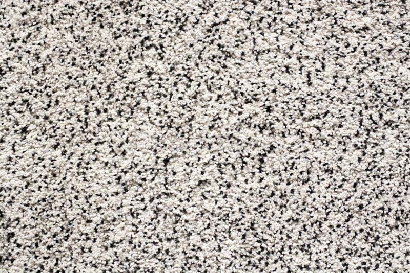 Weiche Teppichstapelgraue schwarze Mischfarbschwarzes weißes Weiche stockfoto