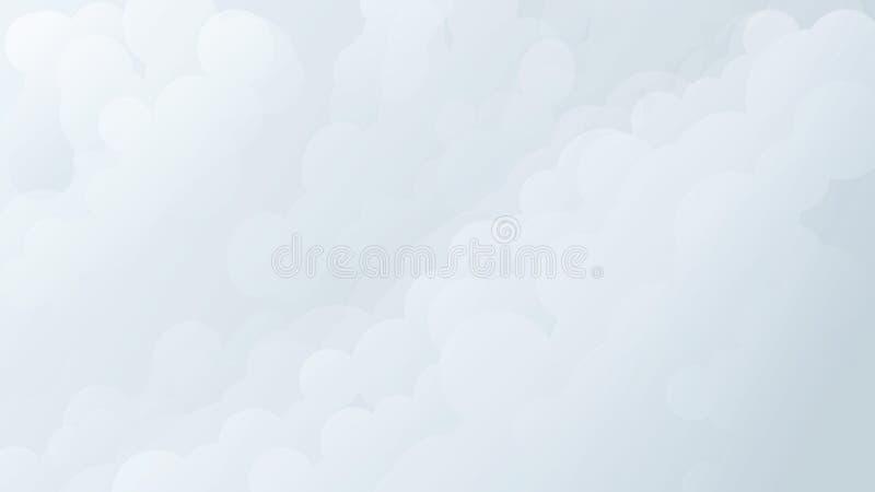 Weiche Wolken vektor abbildung