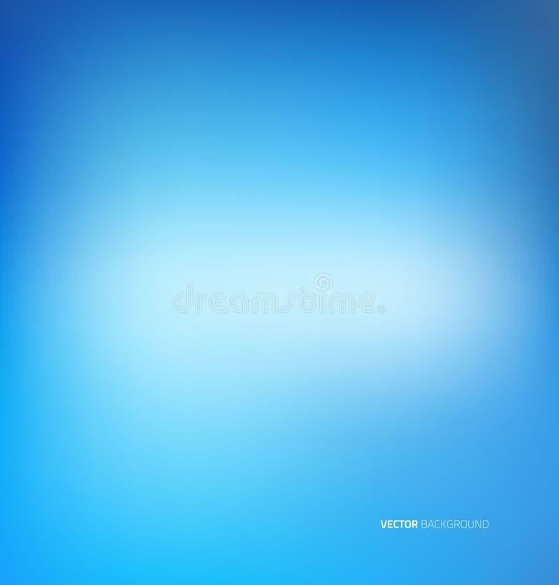 Weicher blauer abstrakter Hintergrund lizenzfreie abbildung