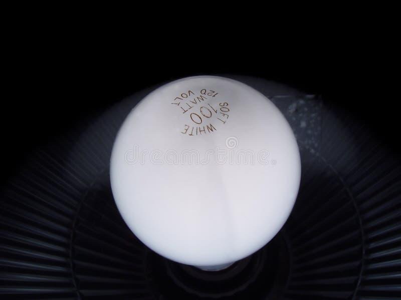 Weicher Fühler der weißen Lampe lizenzfreie stockfotos