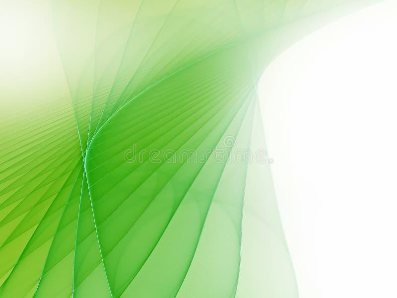 Weicher grüner futuristischer Hintergrund stock abbildung