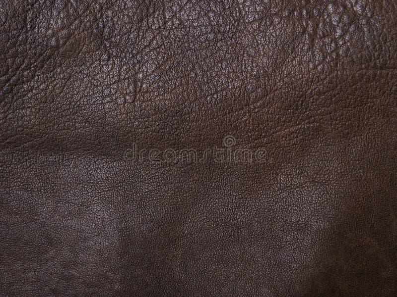 Weiches braunes Leder stockbilder