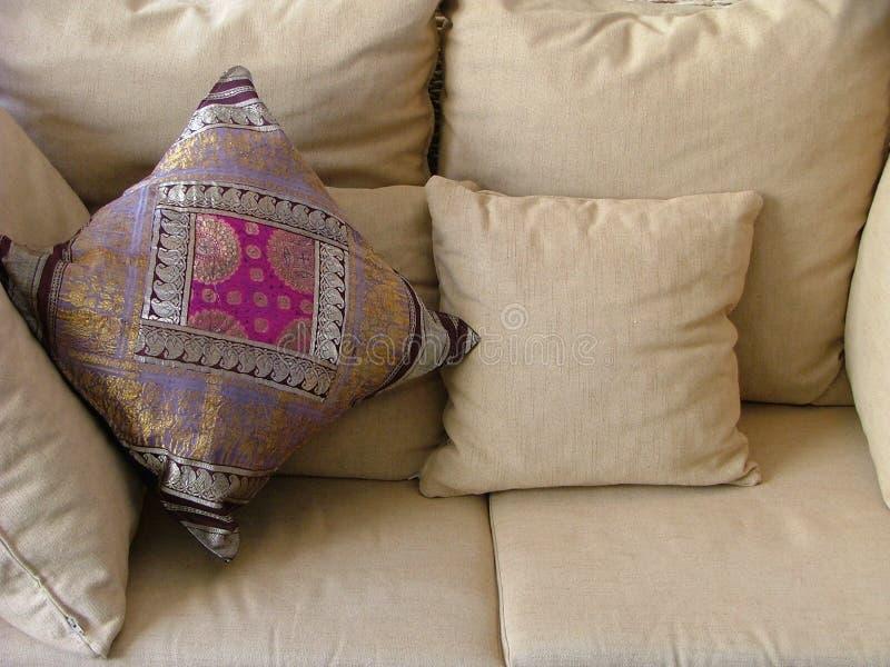 Weiches Sofa stockbilder