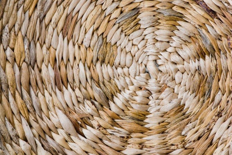 Weidenkorbbeschaffenheit stockbild