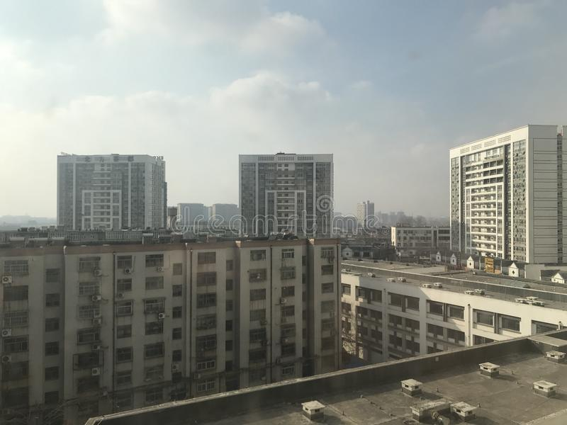 Weifang staci kolejowej herbaty rynek zdjęcia stock