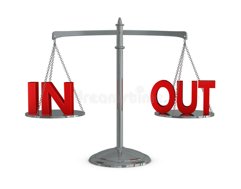 Download Weigh In And Out Stock Photography - Image: 19609472