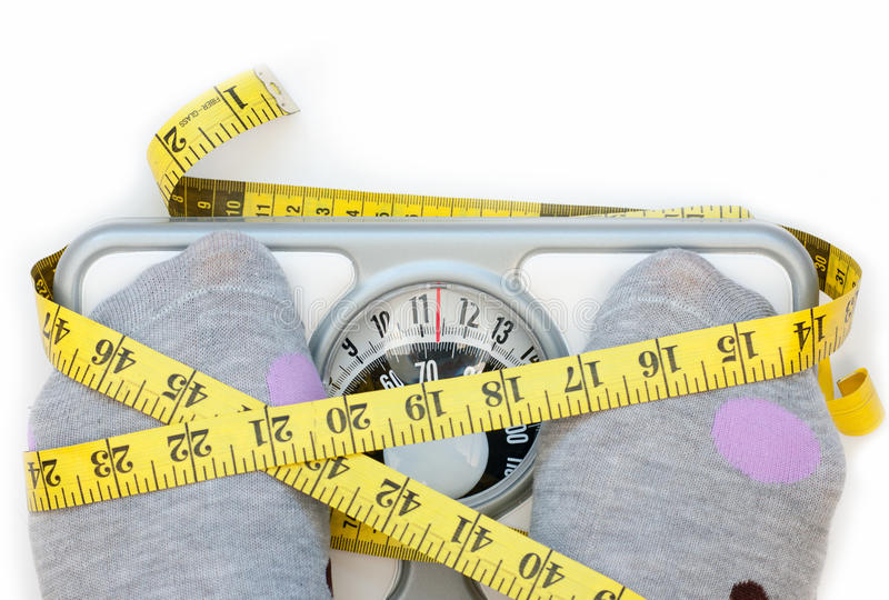 Download Weighing scales stock image. Image of closeup, diet, lifestyle - 28050385