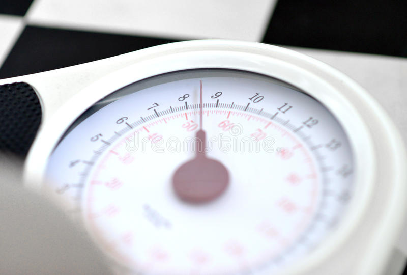 Weighing scales royalty free stock photos