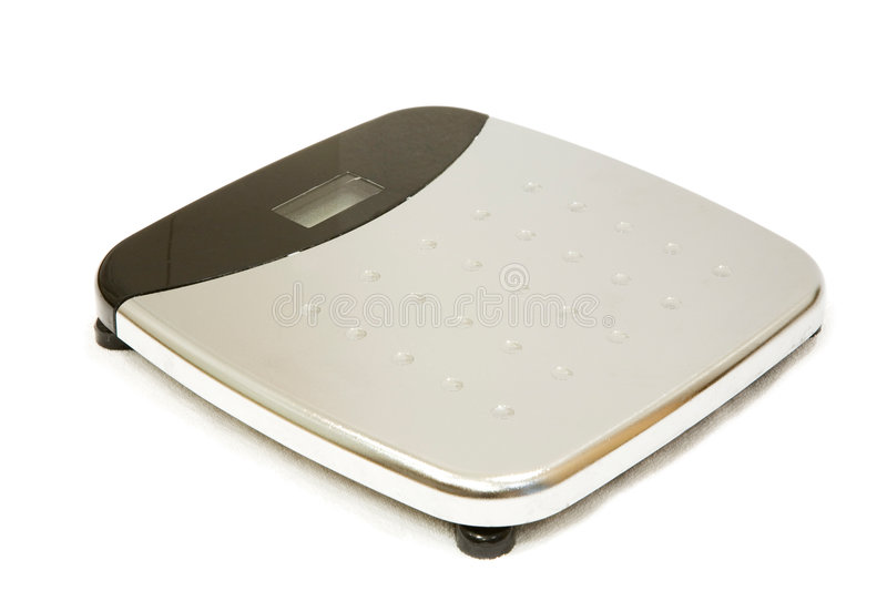 Weighing Scales Isolated stock image