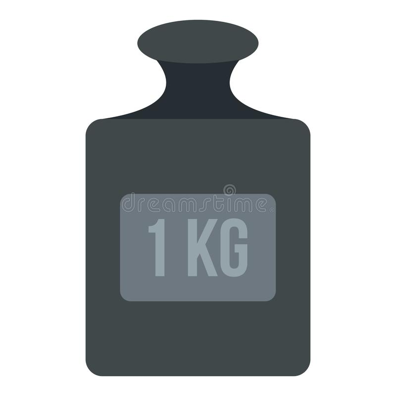 Free Weight 1 Kg Icon Isolated Stock Image - 90974031
