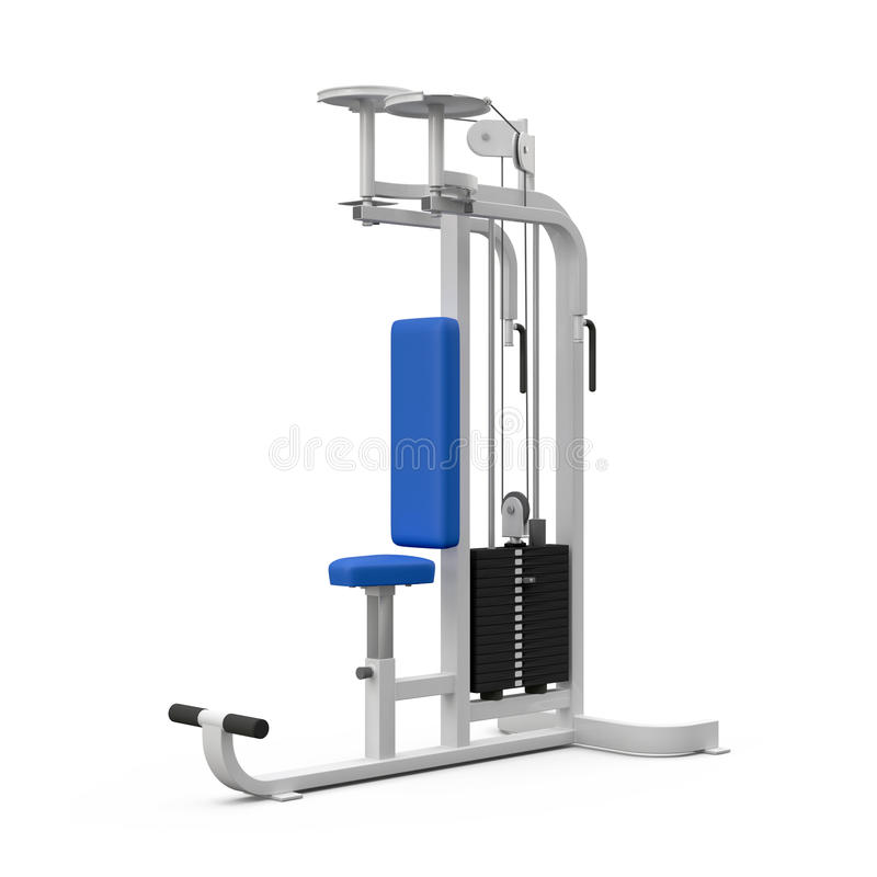 Download Weight bench for neck stock illustration. Image of active - 25946747