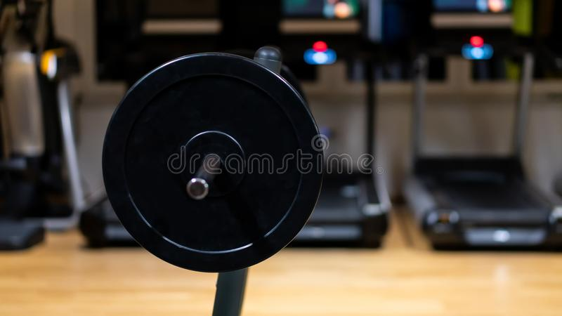 Weight in gym room, close up horizontal photo. Photo of weight in gym room, close up horizontal photo stock images