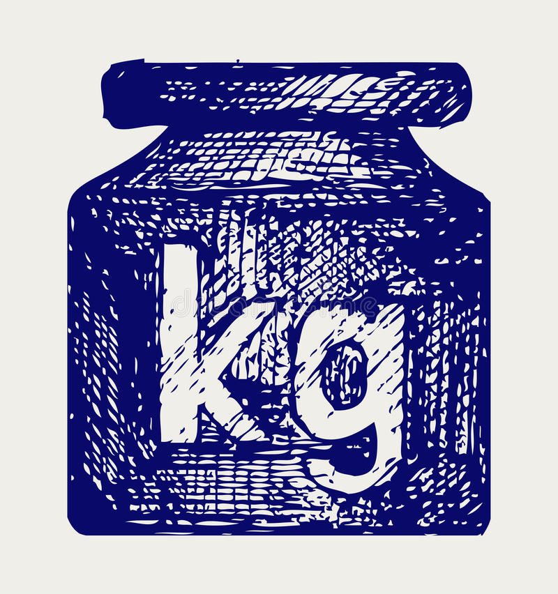 Weight Kilogram Royalty Free Stock Photos