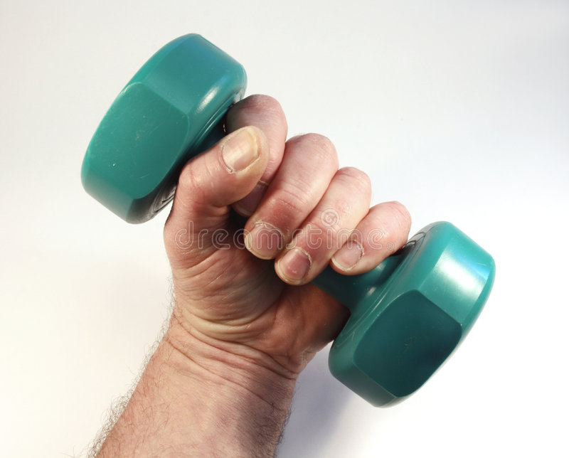 Weight lfting royalty free stock image