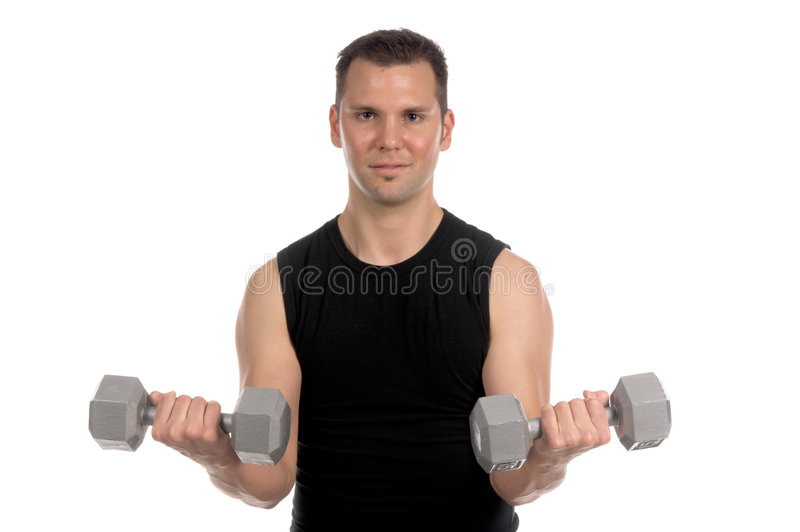 Download Weight Lifter Royalty Free Stock Photo - Image: 524915