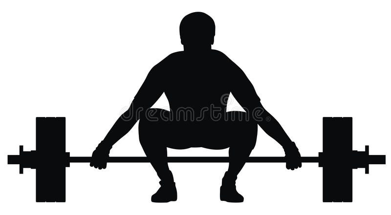 Download Weight lifter athlete stock vector. Illustration of vector - 13318120