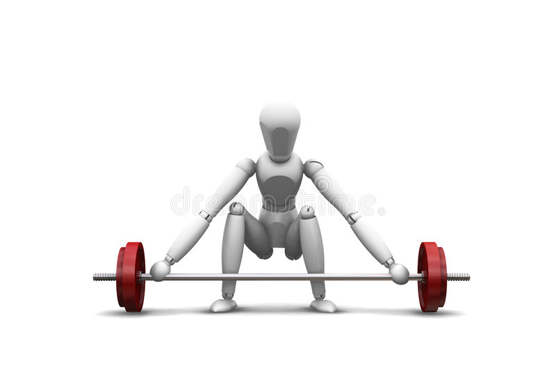 Download Weight lifting stock illustration. Image of weights, training - 1623979