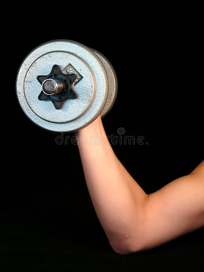 Weight-lifting Fotografie Stock Libere da Diritti