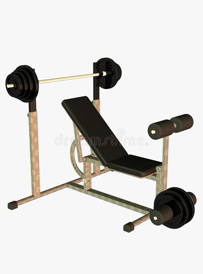 Download Weight lifting bench stock photo. Image of equipment - 13083426