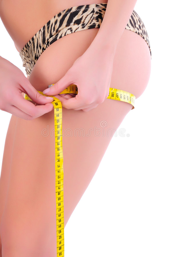 Download Weight loss stock photo. Image of beauty, measurements - 8806270