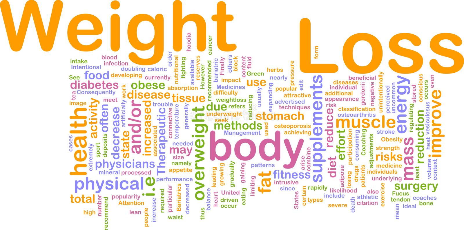 Download Weight Loss Background Concept Stock Illustration - Image: 12486467