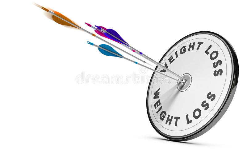 Weight Loss Concept stock illustration
