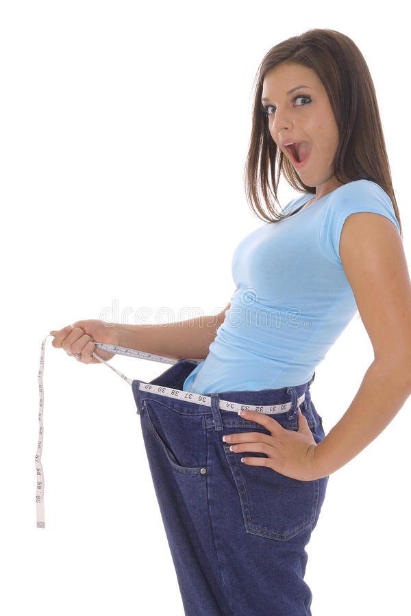 Free Weight Loss Surprise Stock Photos - 14754123