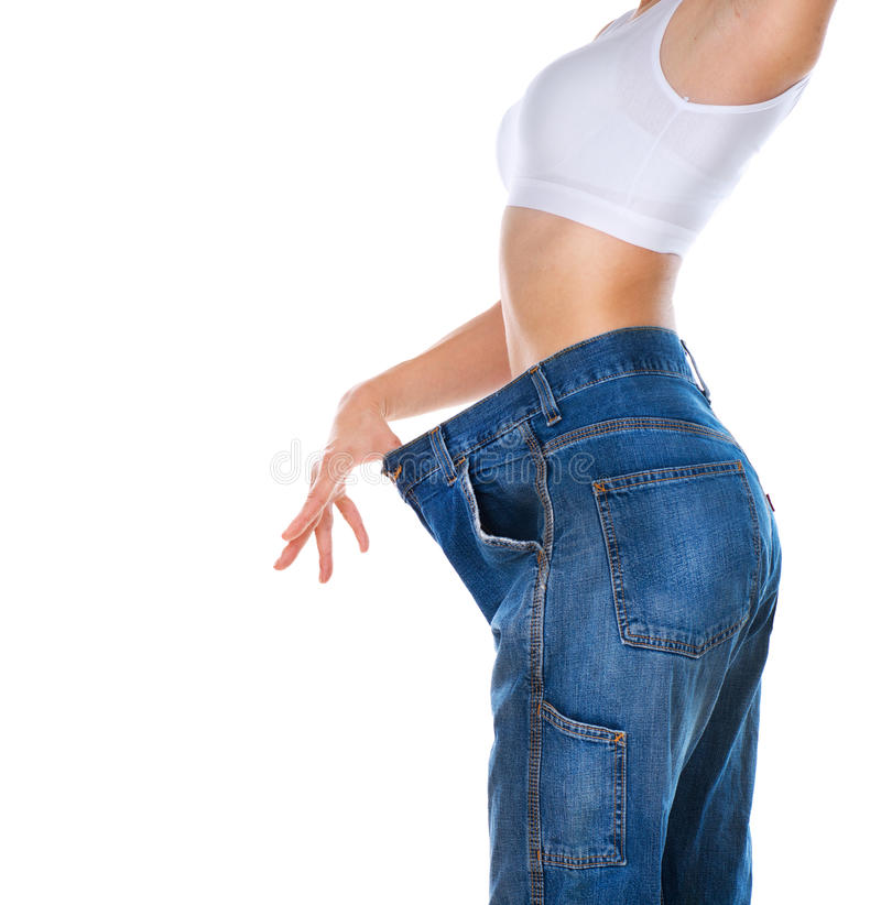 Download Weight Loss Woman stock image. Image of measurement, loss - 25269127