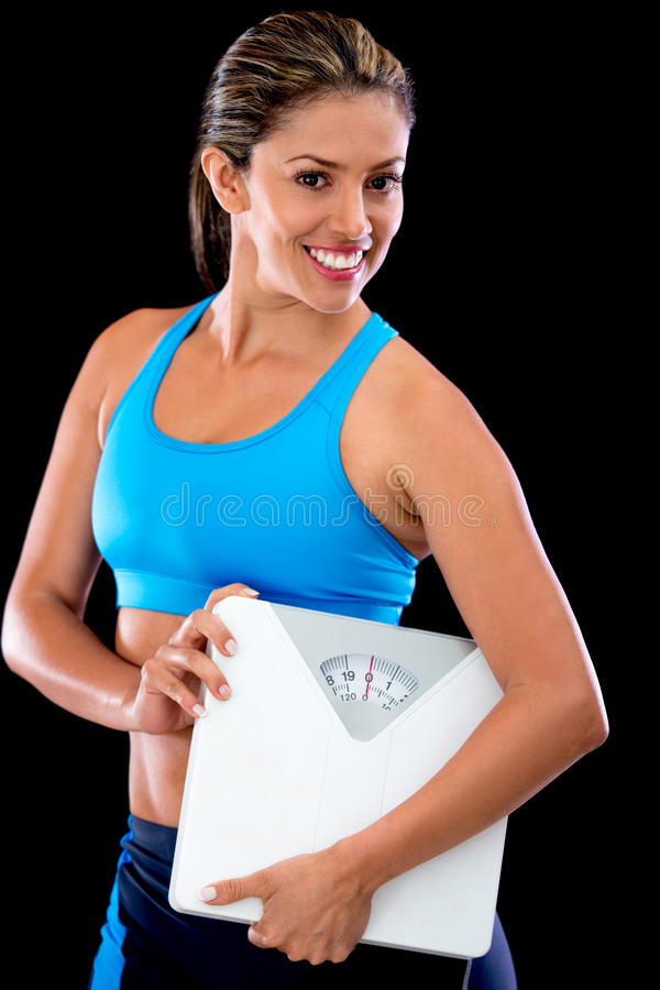 Download Weight loss woman stock photo. Image of girl, content - 25660254
