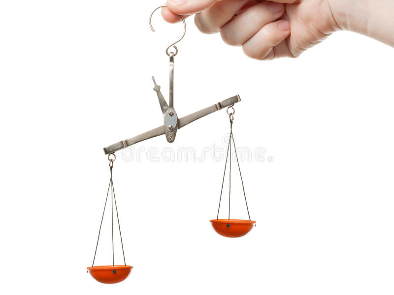 Weight Scale Royalty Free Stock Images