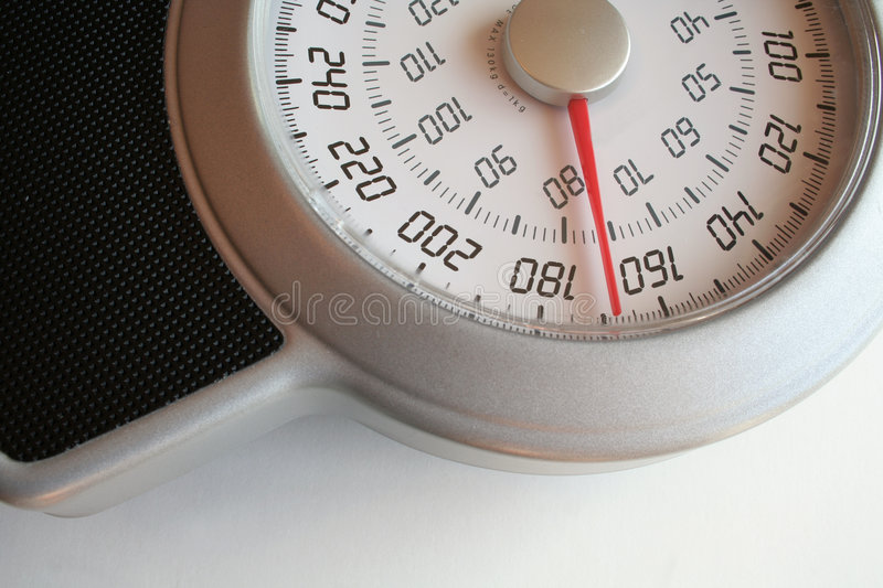 Weight Scale 168 royalty free stock images