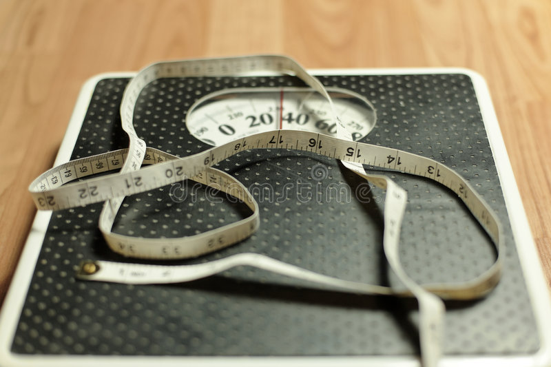 Weight Scale 2 Stock Images