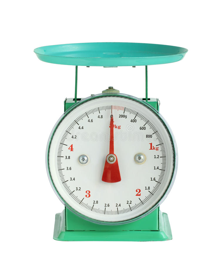 Free Weight Scale Stock Photo - 94735270