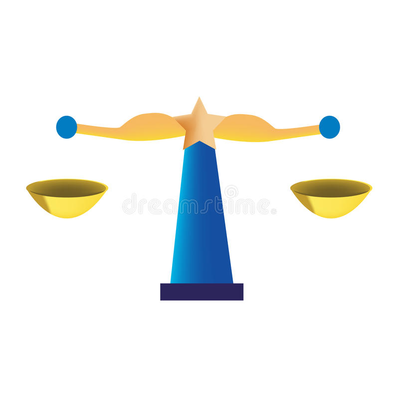Download Weight Scale As Libra Horoscope Stock Vector - Image: 9650779