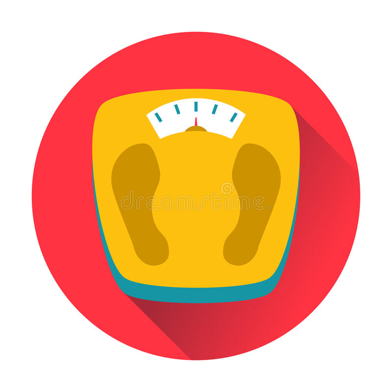 Weight scales icon vector illustration