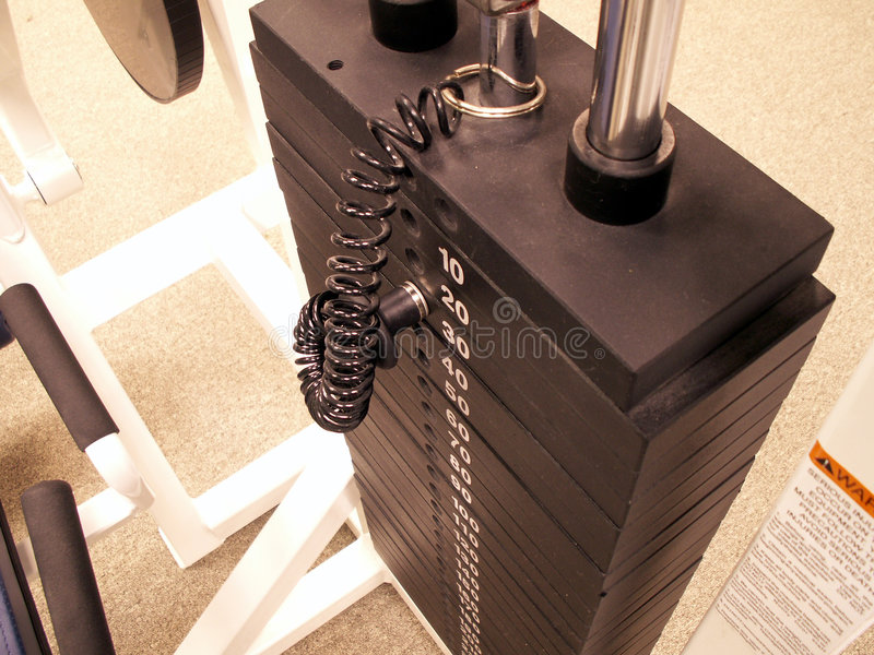 Weight stack stock photos