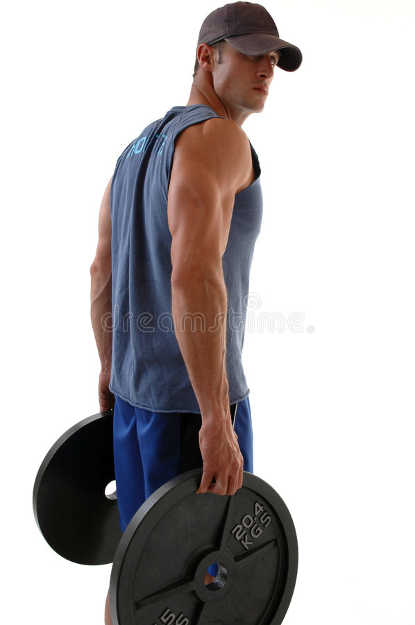 Download Weightlifter stock image. Image of biceps, arms, fitness - 1196657